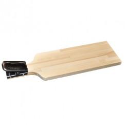 Доска разделочная деревянная Кедр с прищепкой